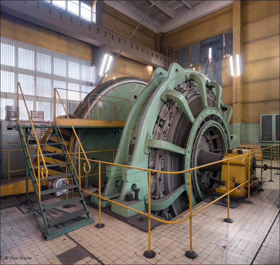 KWK Boże Dary, pit no. I winding engine