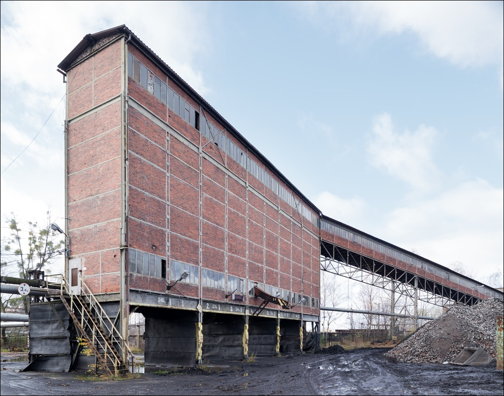 kwk Centrum-Bytom, coal distribution silo