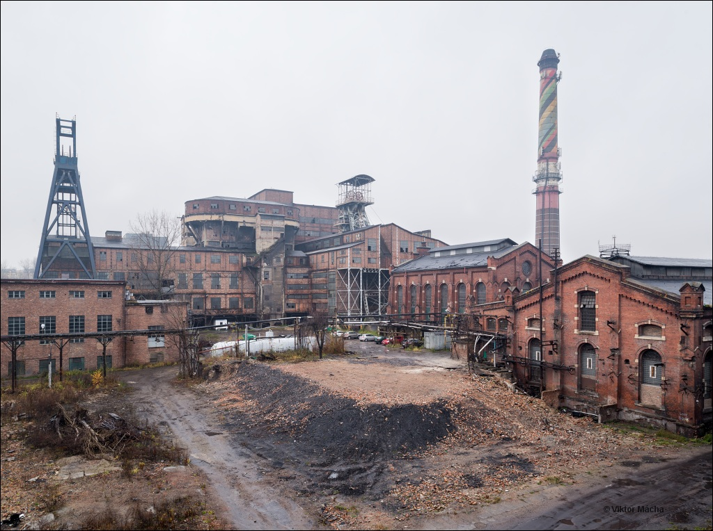 kwk Mysłowice, coal mine under demolition