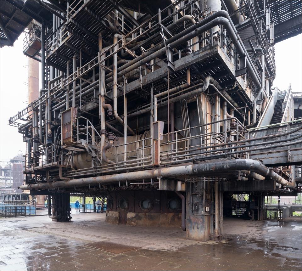 Landschaftspark DuisburgNord blast furnace casting floor Viktor