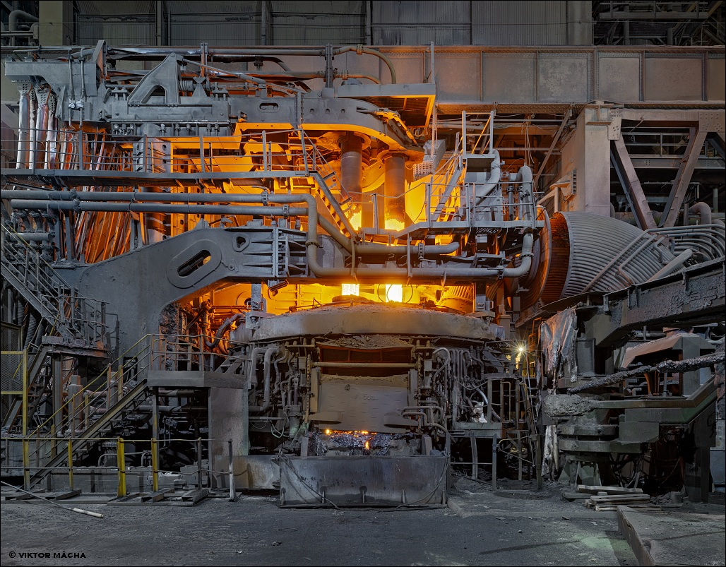 Liberty Speciality Steels, electric arc furnace