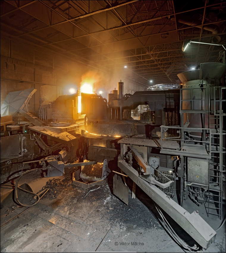 Marienhütte, 35 ton electric arc furnace