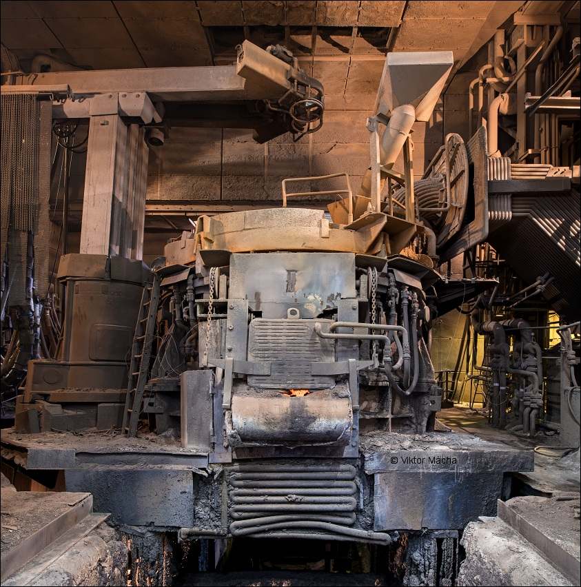 Metal Ravne, 45 tons electric arc furnace