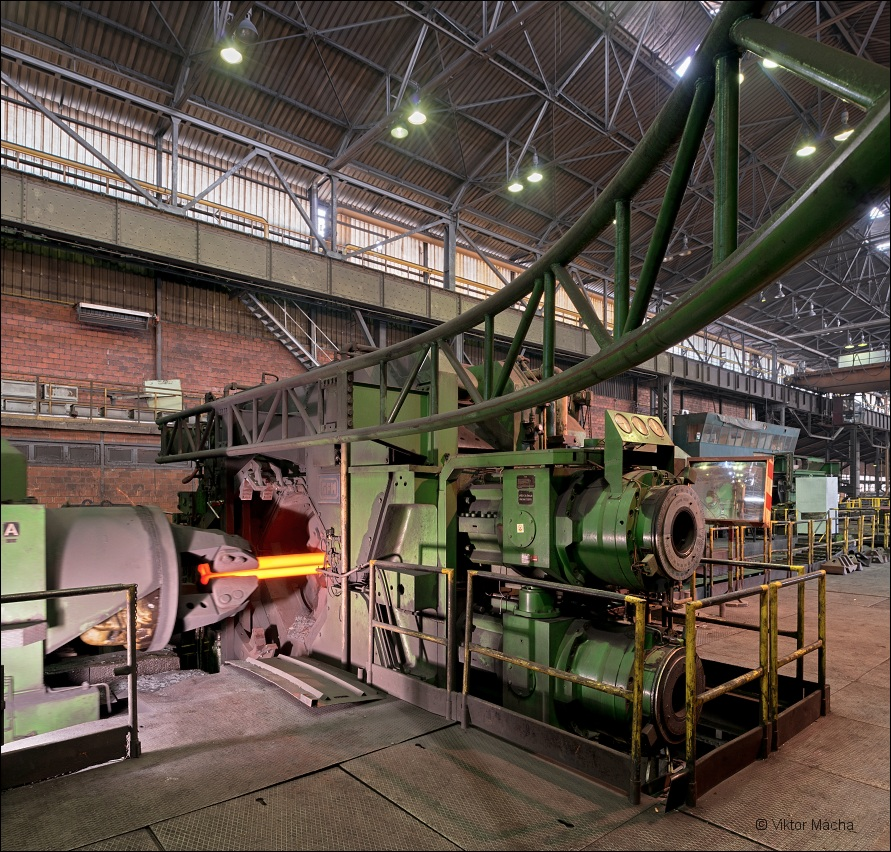 Metal Ravne, forging machine