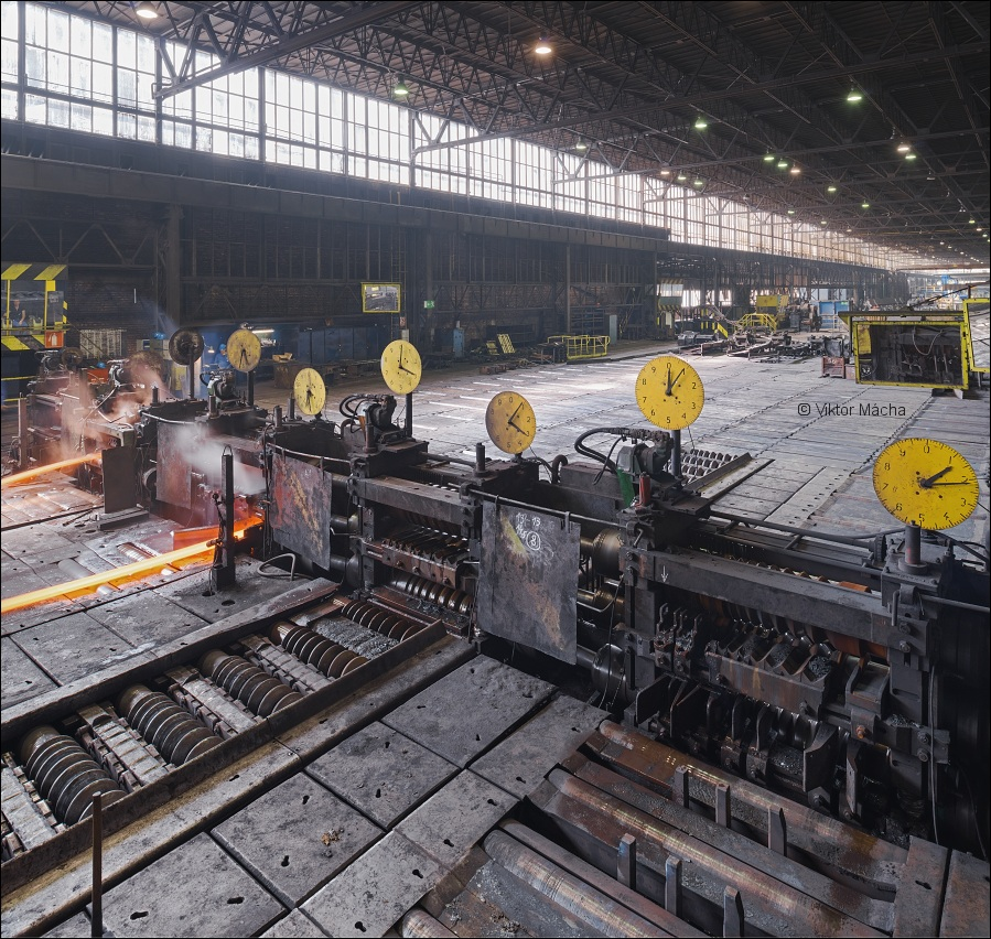 Metal Ravne, section rolling mill