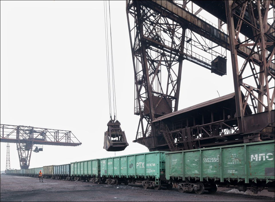 Metinvest Azovstal, iron ore unloading