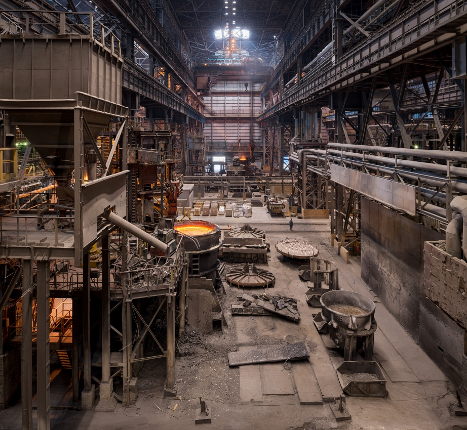 NLMK Lipetsk, steel melting shop
