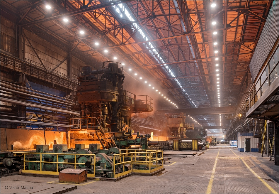 NLMK Lipetsk, hot strip mill