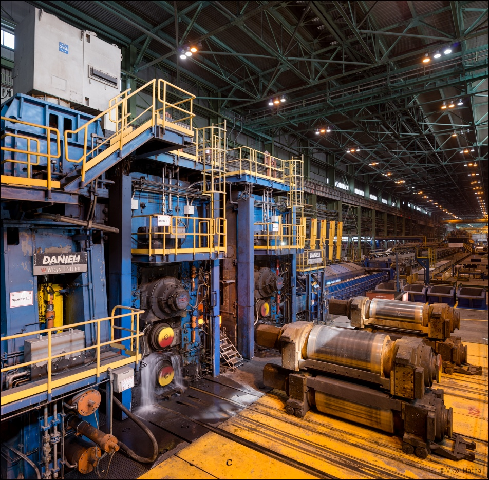OMK Vyksa Steel, continuous hot strip mill