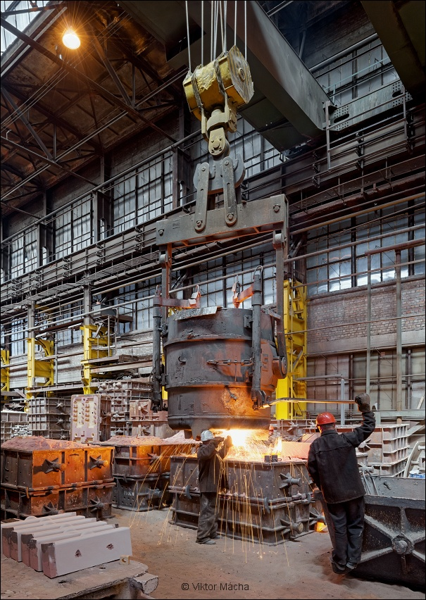 OMZ foundry, steel casting
