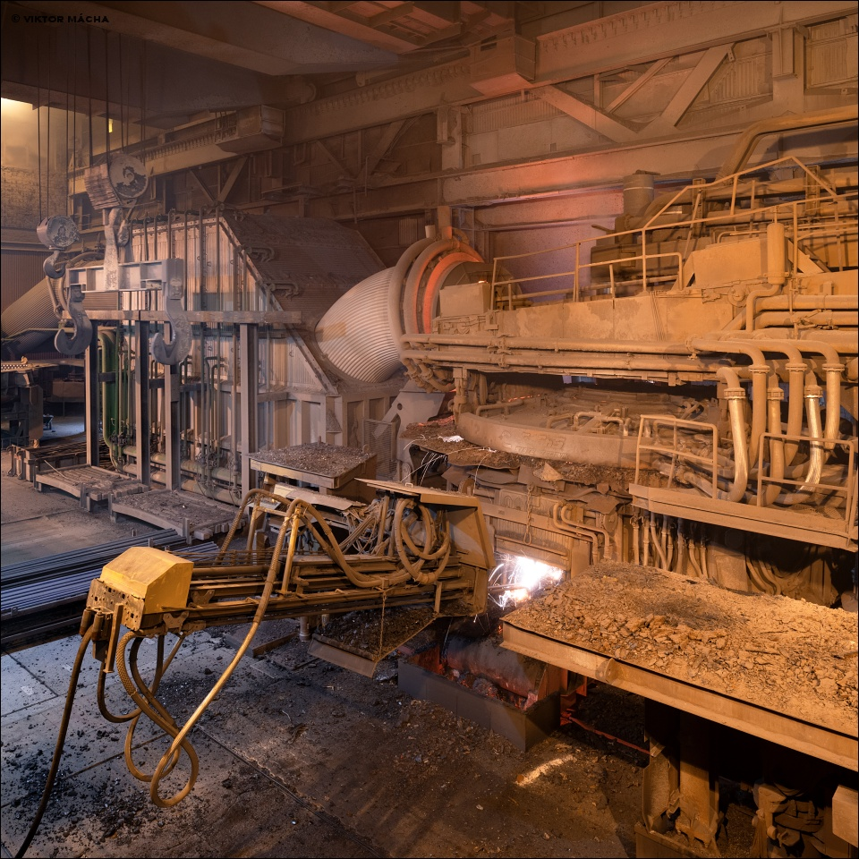 Ovako Smedjebacken, 125 t electric arc furnace