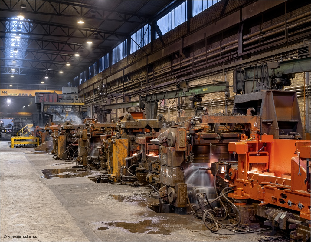 Ovako Smedjebacken, bar rolling mill