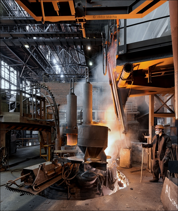 Petrostal, laddle furnace