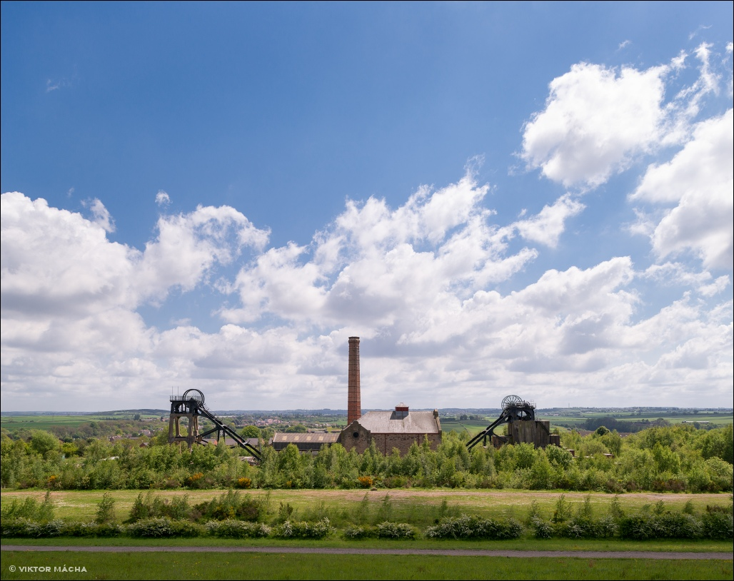 Pleasley colliery, Derbyshire