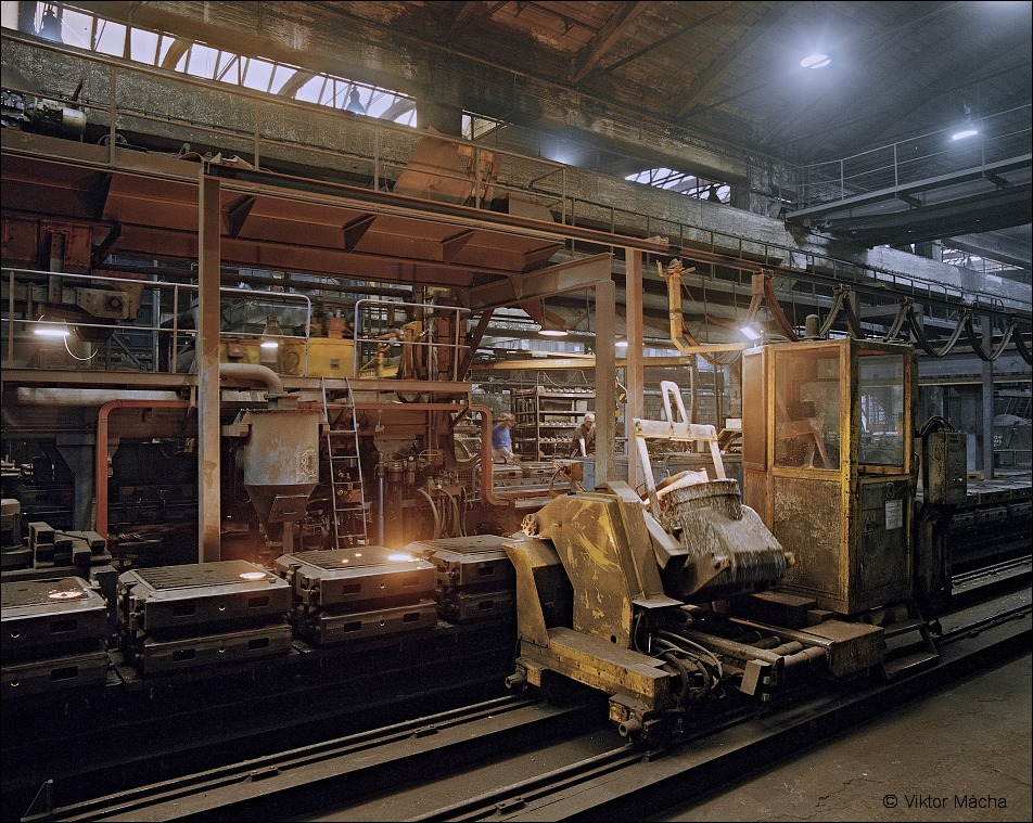 ¨Promet foundry, casting line