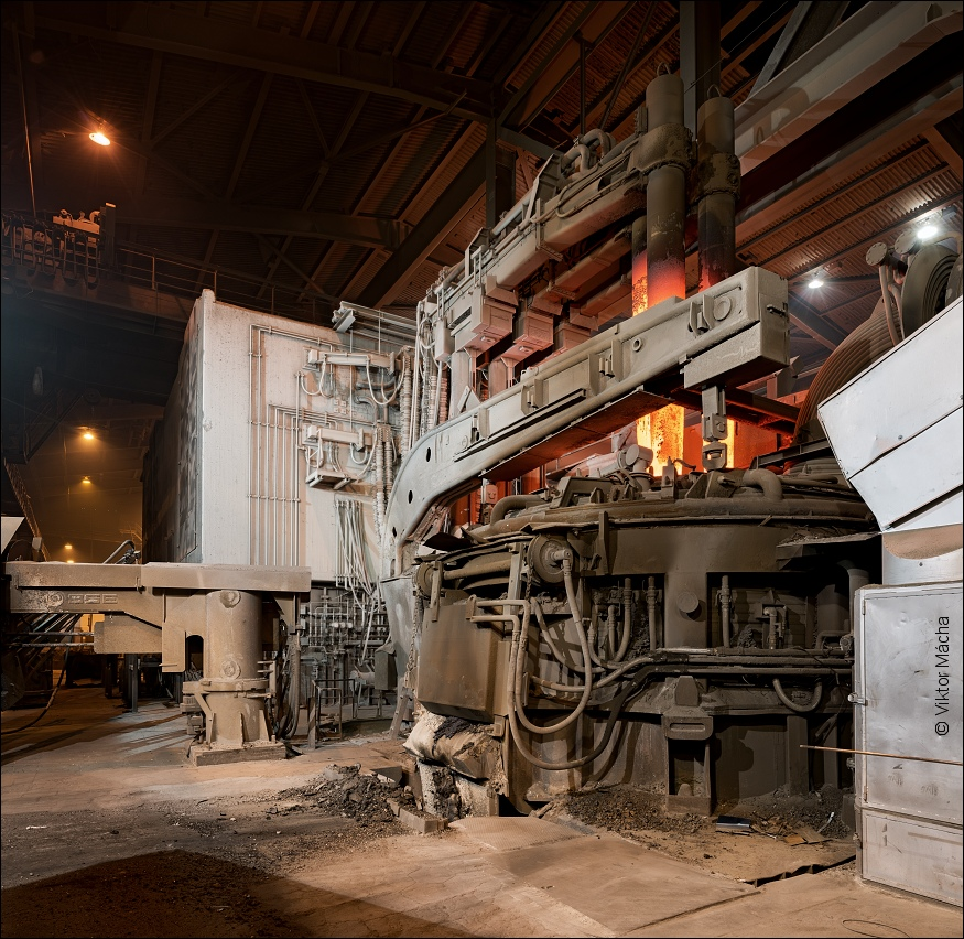 Sandvik, 75 tons electric arc furnace