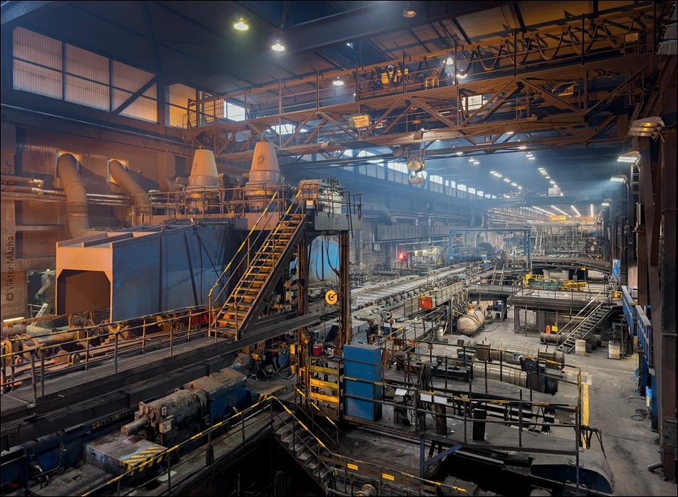 Sandvik Blooming Mill Viktor M 225 Cha Industrial Photography