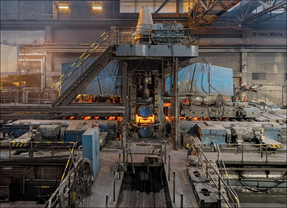 Sandvik, blooming mill