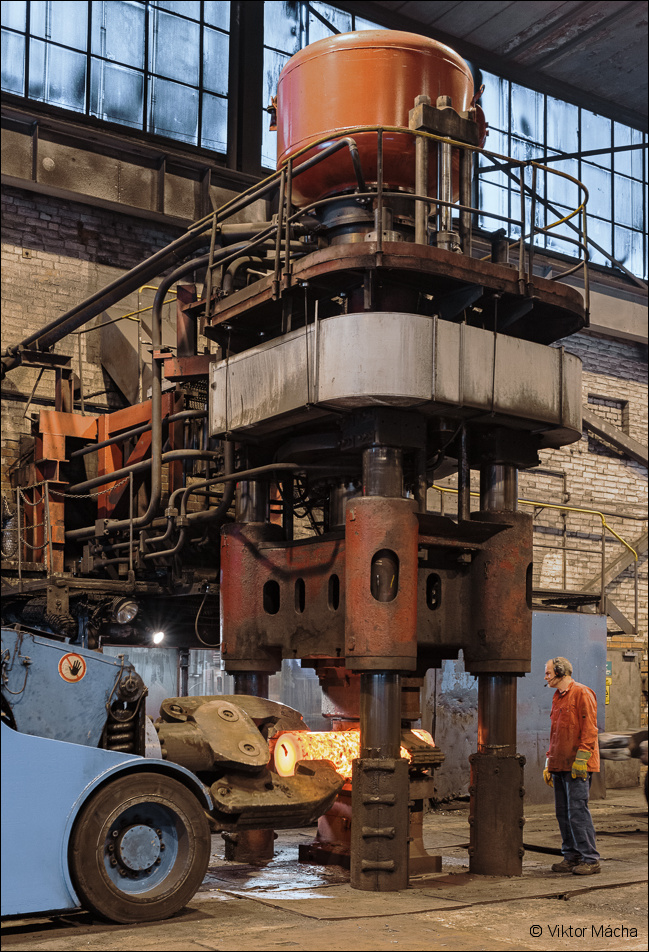 Scana Steel, forging