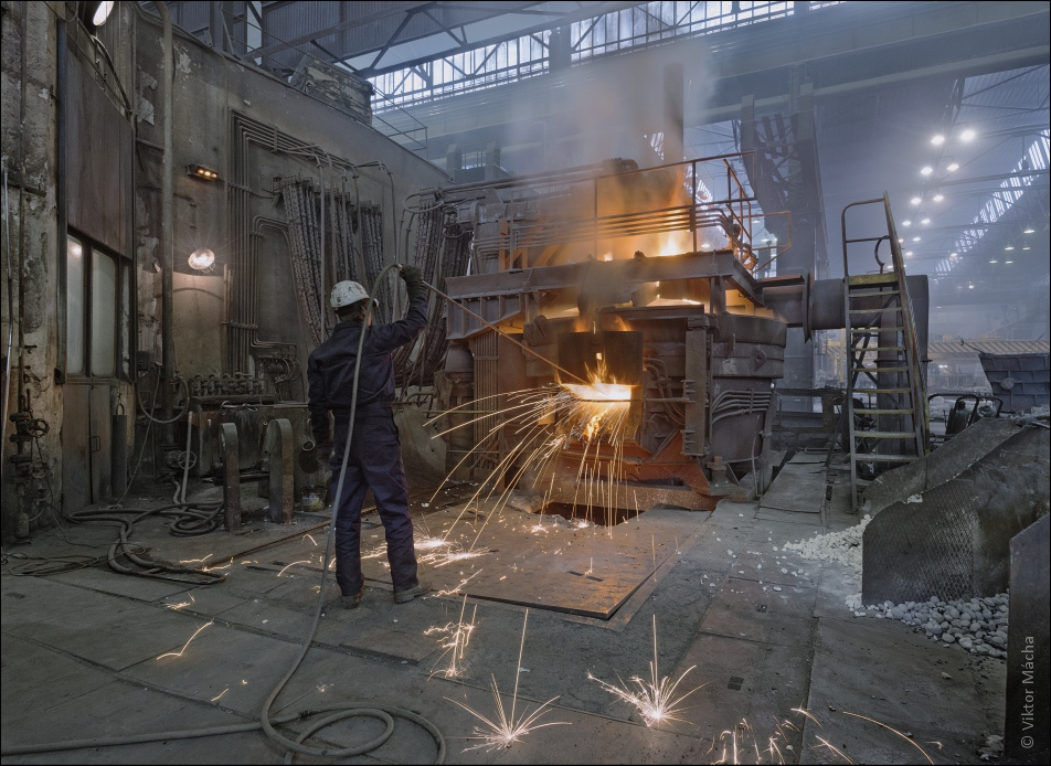 SCB Foundry, oxygen blowing