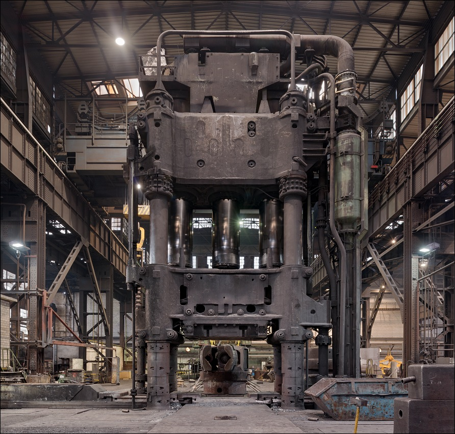 Schmiedewerke Gröditz, 60 MN forging press