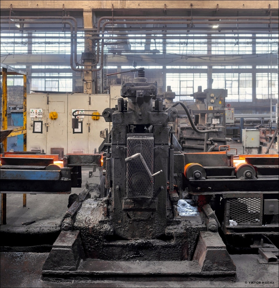 Special Steel Sections, rolling mill stand