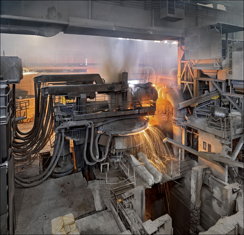 Štore Steel, 60 ton electric arc furnace