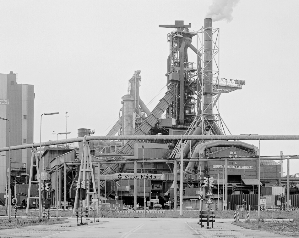 TATA IJmuiden, blast furnace no.7 and no.6