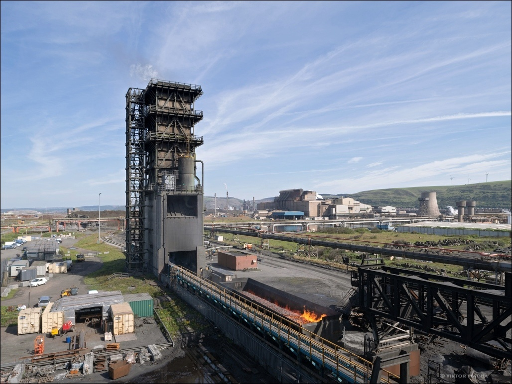 Tata Port Talbot, quenching tower