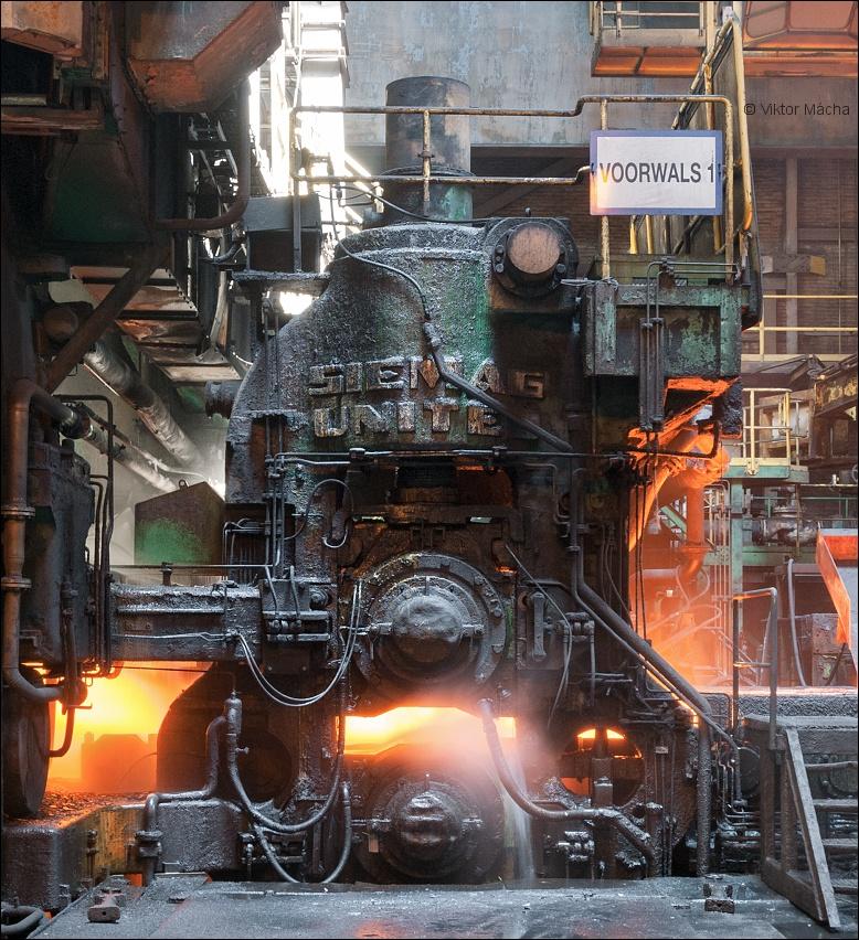 TATA Steel IJmuiden, roughing stand no 1 | Viktor Mácha - industrial