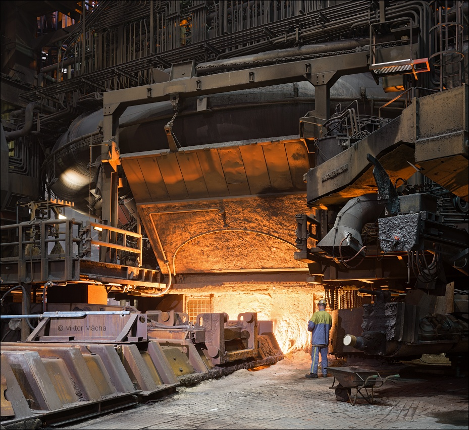 TATA Steel IJmuiden, tapping the blast furnace no.7