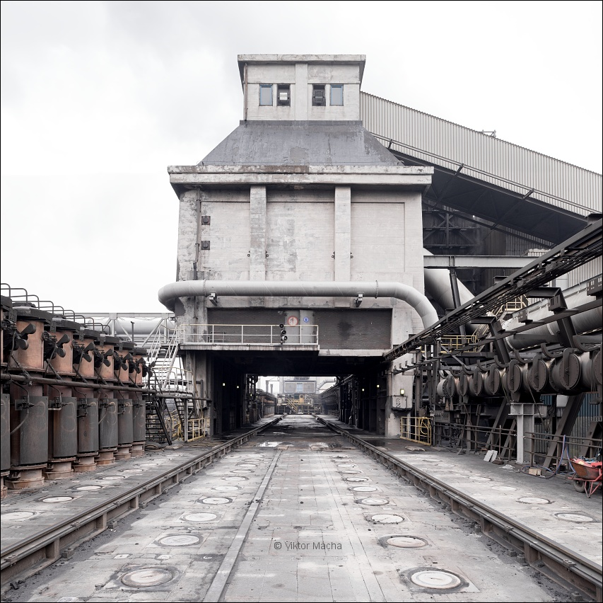 TATA Steel IJmuiden, coal bunker at coking plant no.1