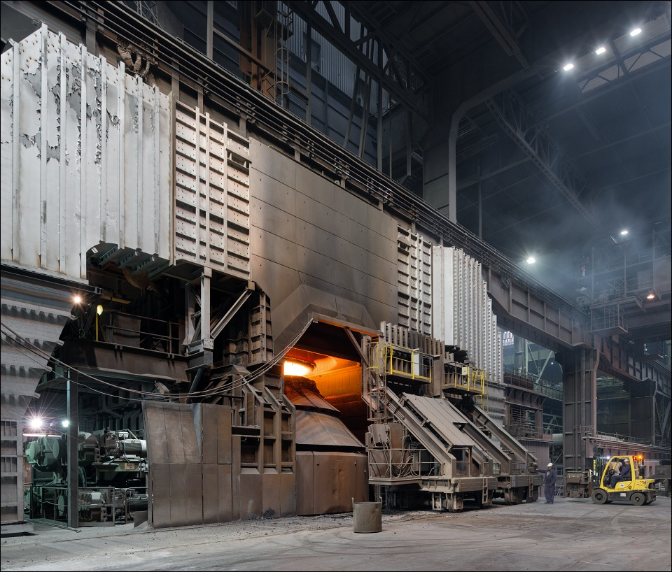 Trinecke zelezarny, in the steel mill