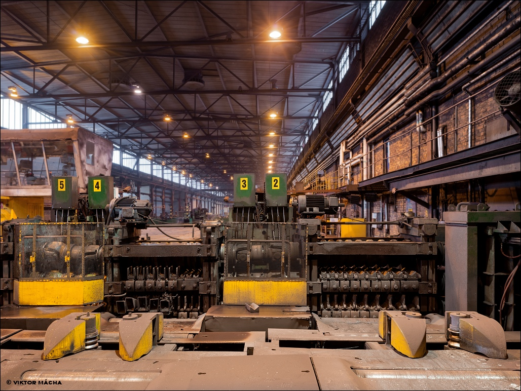 Uddeholm Hagfors, middle section rolling mill