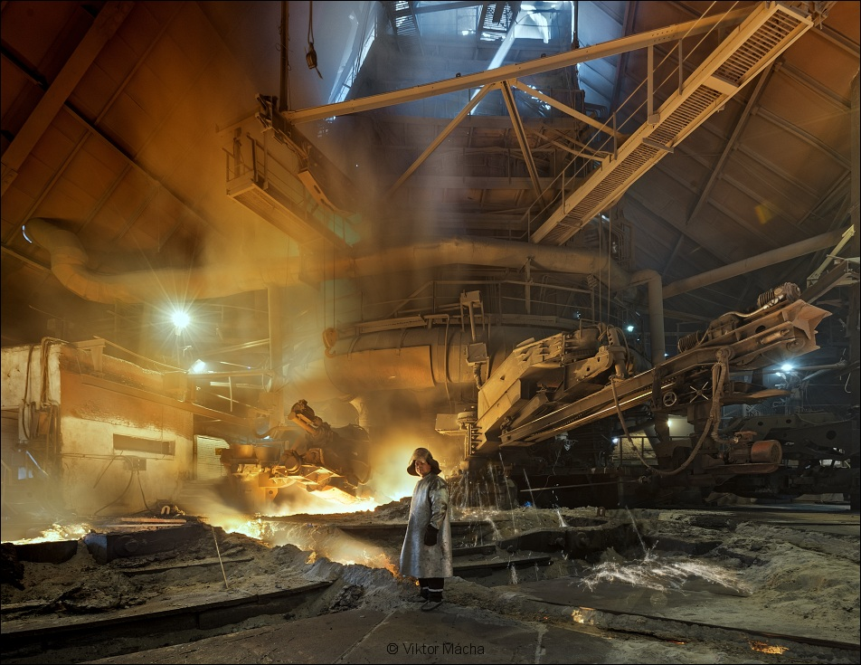 Ural Steel, at the blast furnace no.2