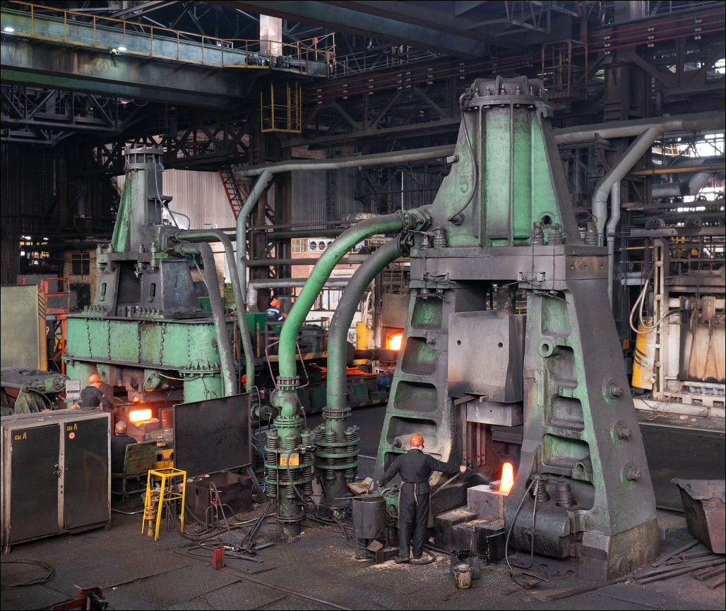 Urals Stamping Plant, the closed-die forge