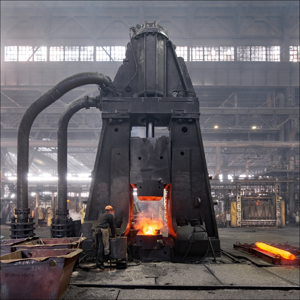 Uralskaya Kuzhnica, closed-die forge