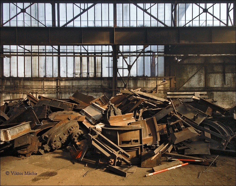 Noval rolling mill, demolition