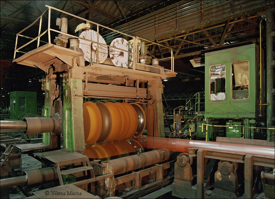 tube rolling mill, plug rolling stand