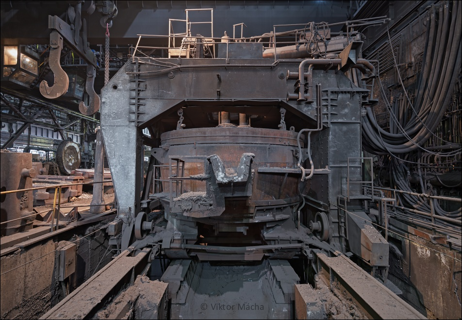 Vítkovice Heavy Machinery, electric arc furnace no.4
