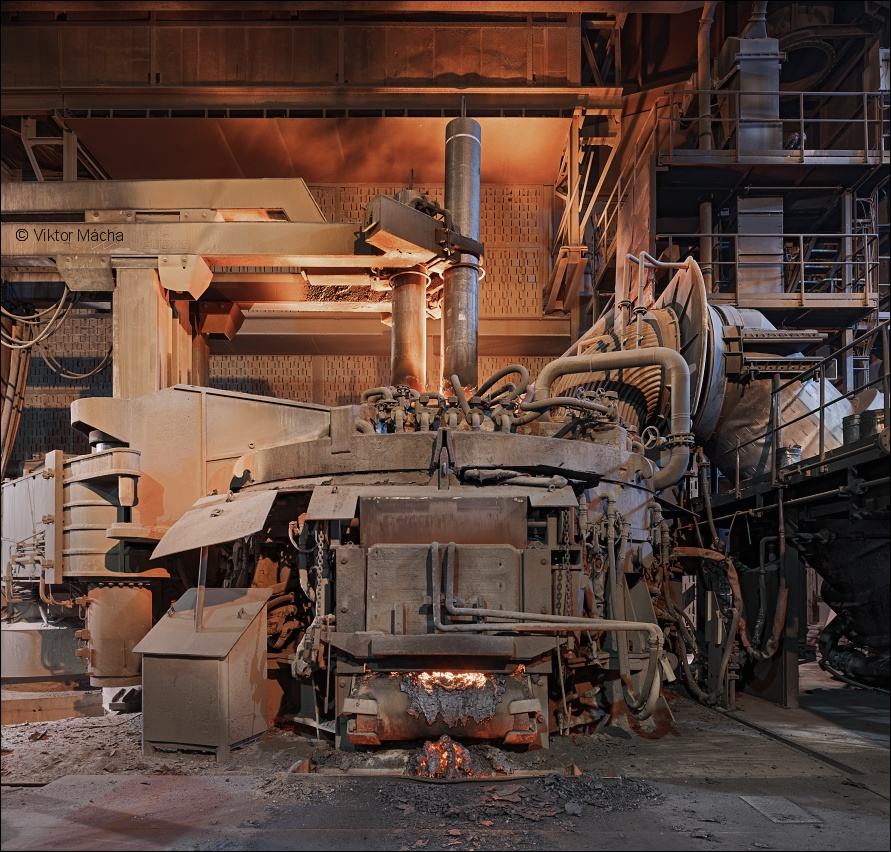 Vítkovice Heavy Machinery, electric arc furnace no.5