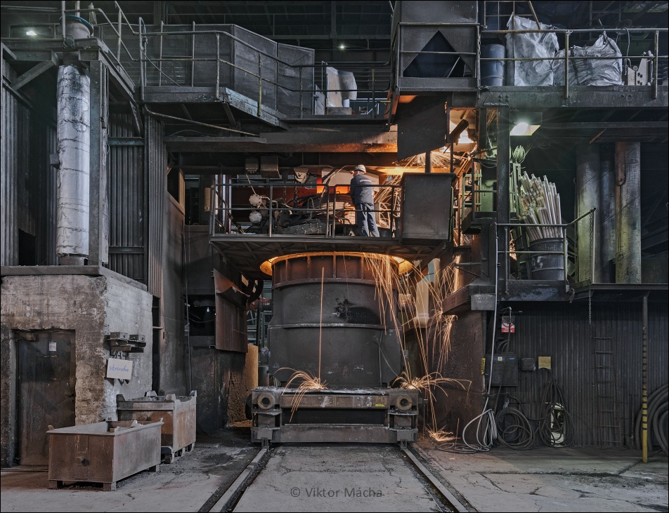 Vítkovice Heavy Machinery, ladle furnace