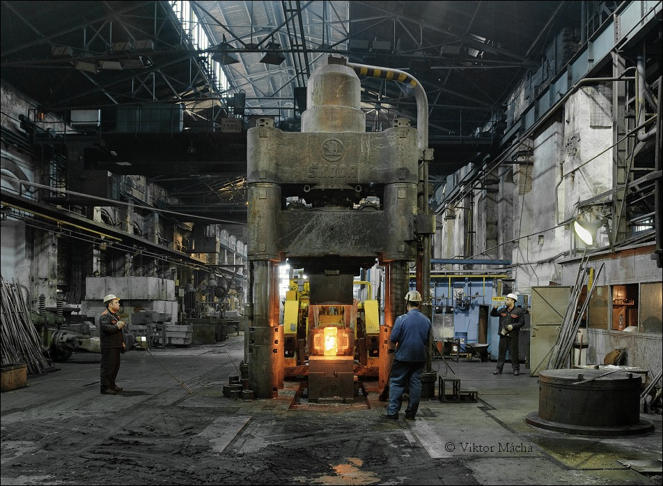 open-die forging