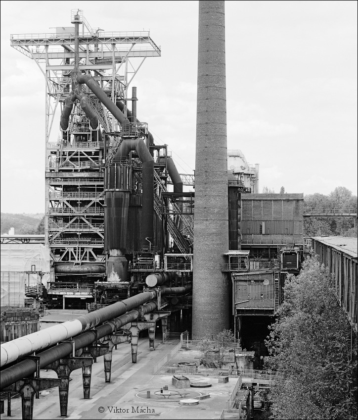Blast Furnace Construction : Blast furnace no viktor mácha industrial photography