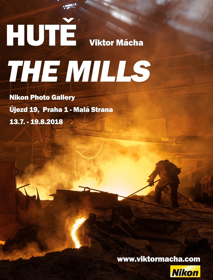 HUTĚ/THE MILLS exhibition