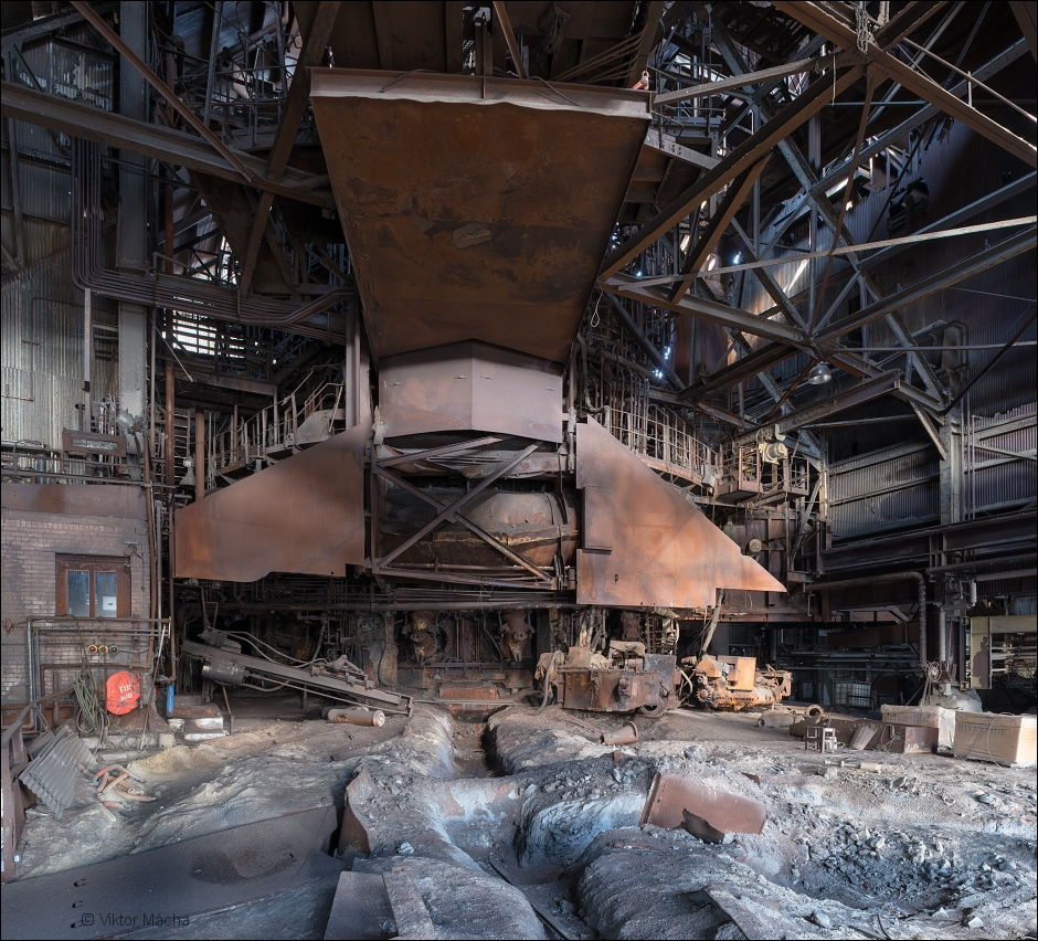 WCI Steel Warren, blast furnace casthouse no.1