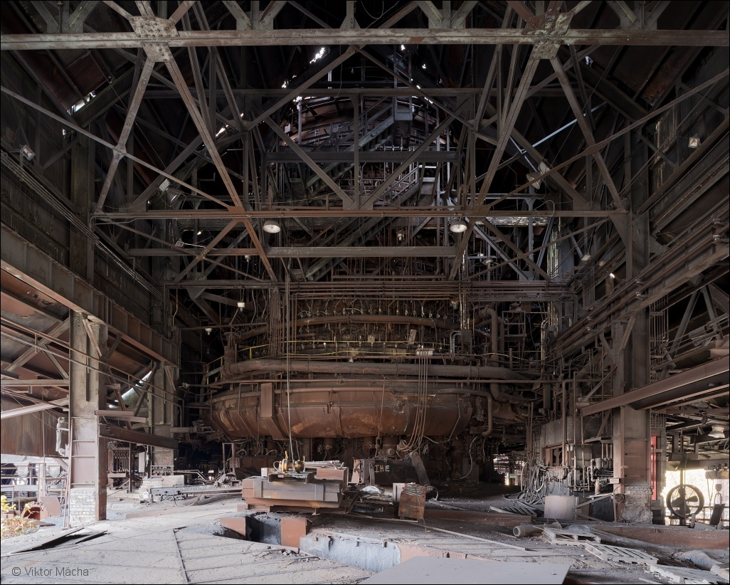 Weirton Steel, blast furnace no.3 casthouse