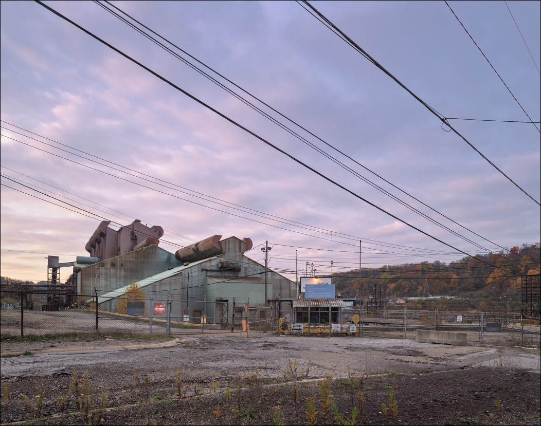 Weirton Steel, abandoned steel mill