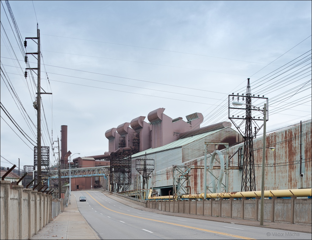 Weirton Steel, downtown steel mill (BOP shop)