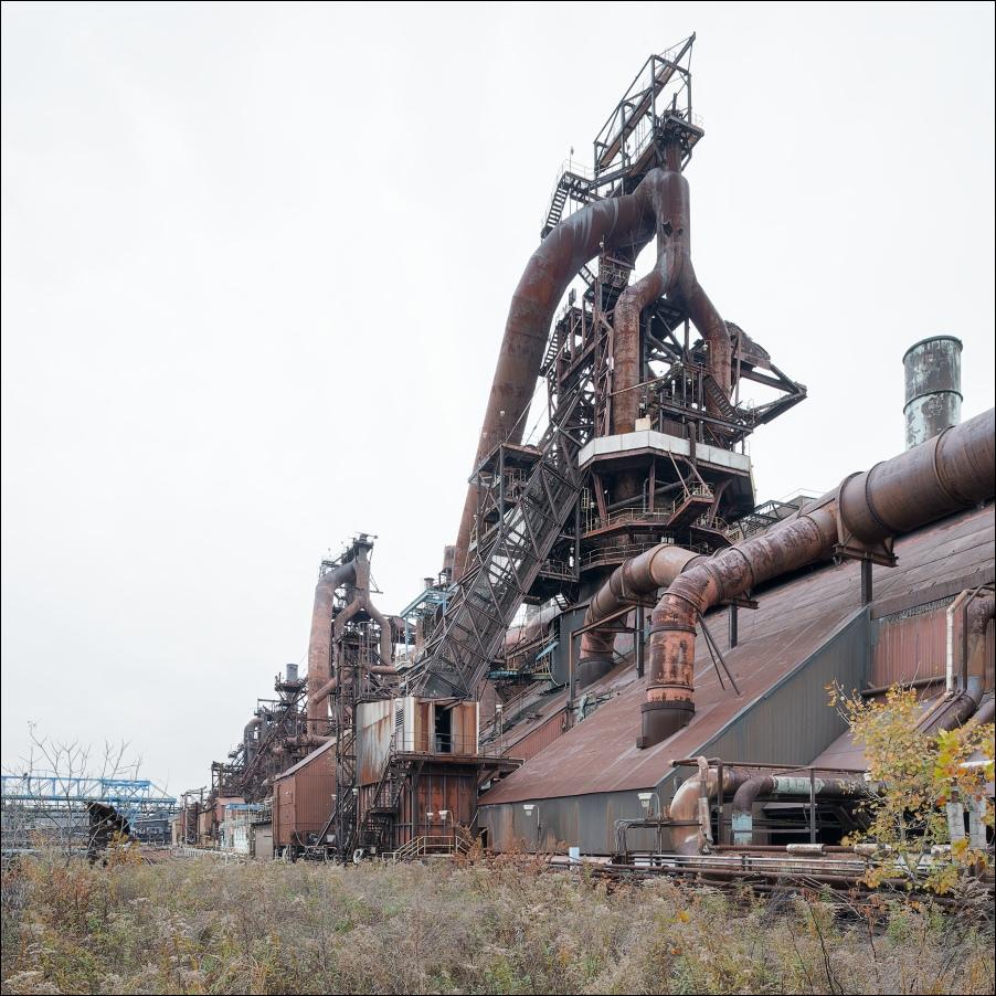 Weirton Steel, blast furnace no.1 | Viktor Mácha ...